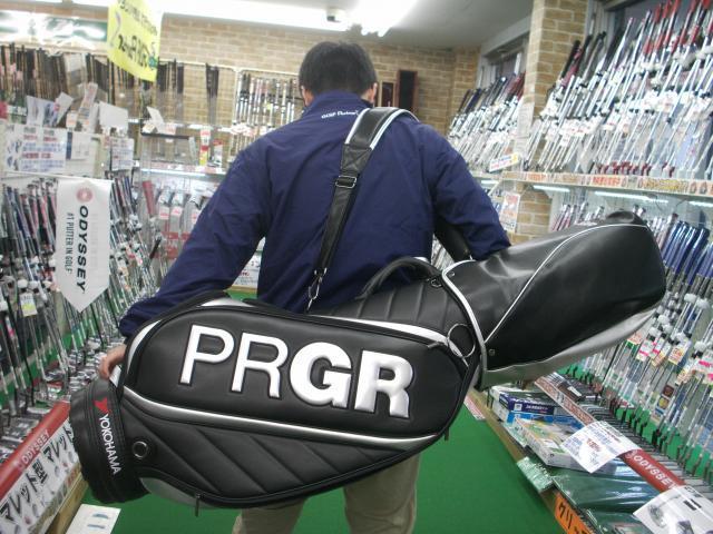 ★PRGRキャディーバッグが入荷いたしました★