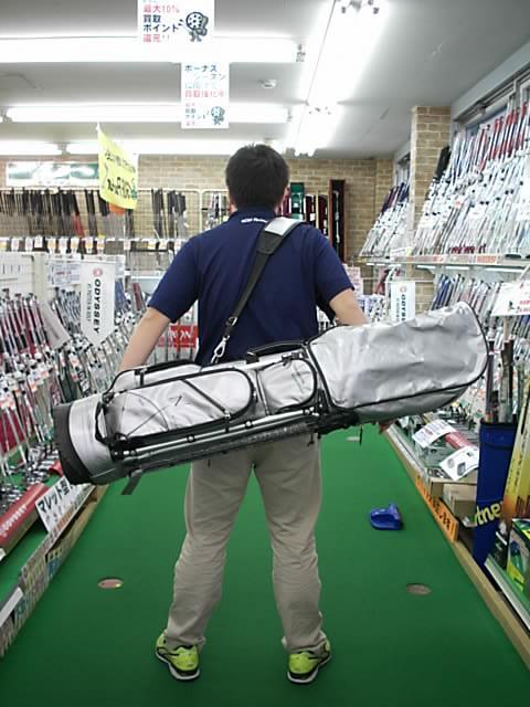 ★神戸生まれの珍しいキャディバッグが入荷しました★