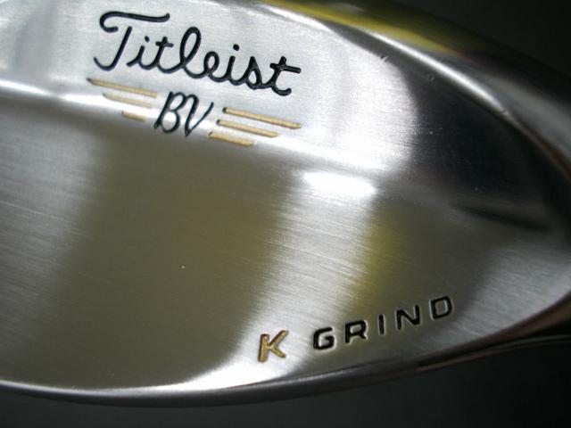 K GRIND!!VOKEY SPIN MILLED SM5