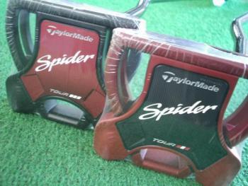 Spider Tour BLACK(サイトライン)・RED(サイトライン)入荷♪