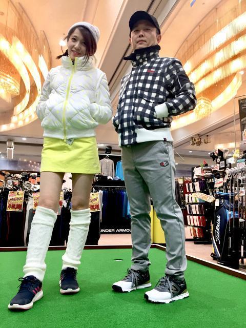 新作ぞくぞく入荷☆ファッショニスタの冬支度はぜひゴルフパートナー下田店へ。