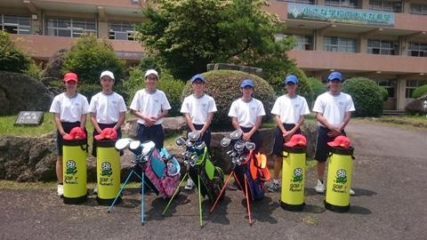 【社会貢献活動レポート】ゴルフ用具無償提供が高校ゴルフ部を新設するきっかけに!授業では決して学べない、ゴルフで「人間形成」を!