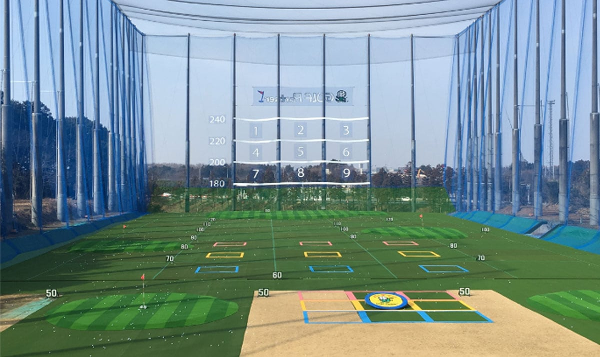 ゴルフパートナー練習場インショップタイプ レンジ売上が増加
