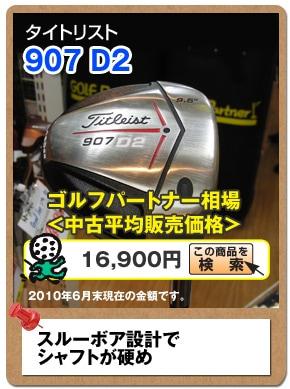 タイトリスト 907 D2
