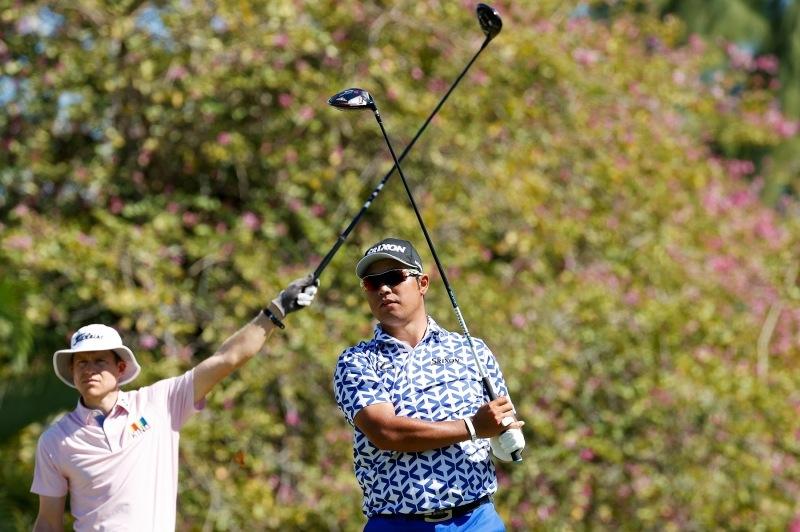 速報 男子 リーダー ボード ゴルフ